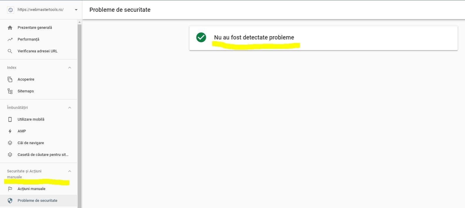 Penalizare Google - WebmasterTools